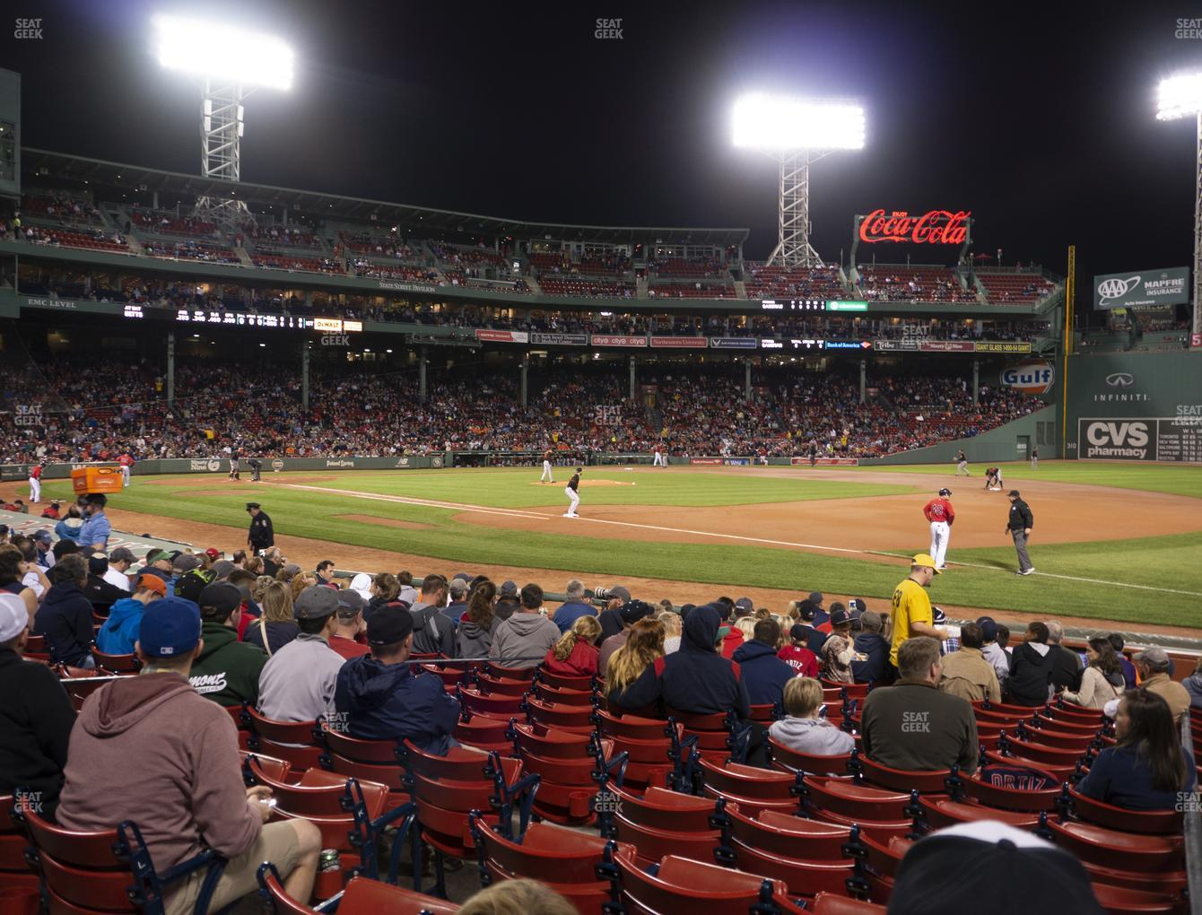 Fenway Park Loge Box 102 Seat Views