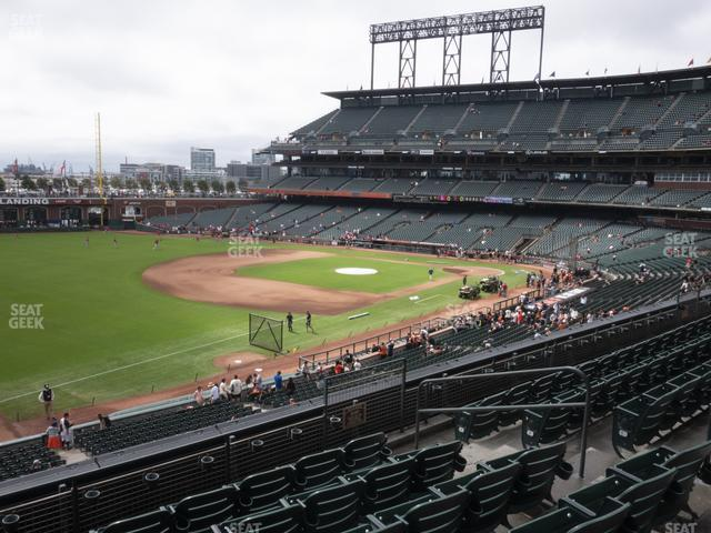Oracle Park Section 229 view