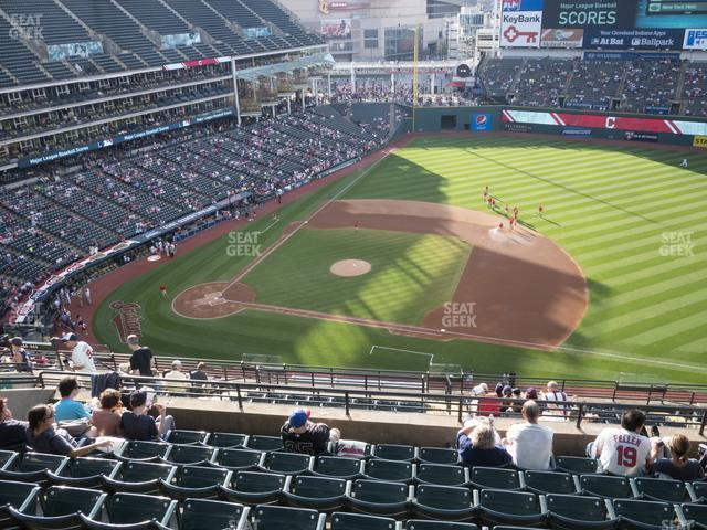 Progressive Field Section 541 view