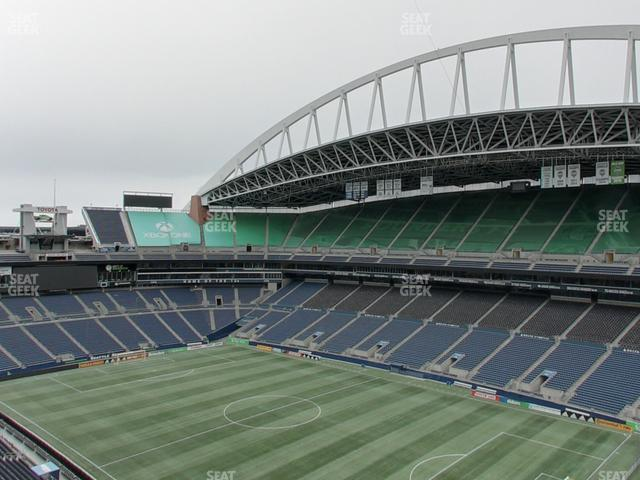 CenturyLink Field Upper 302 view