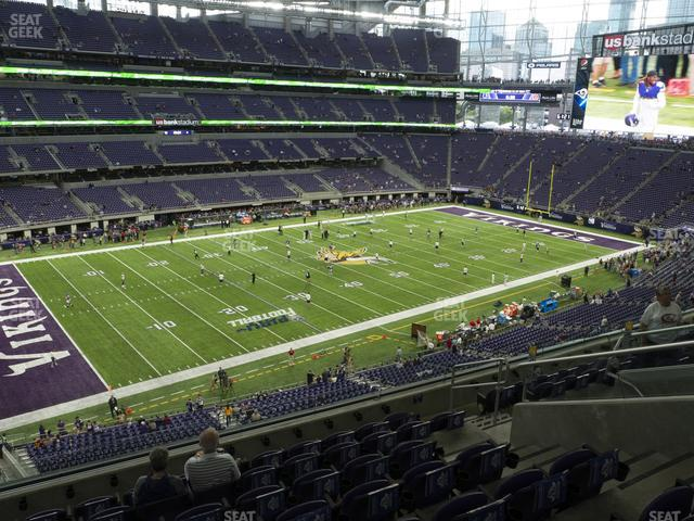 U.S. Bank Stadium Section 216 view