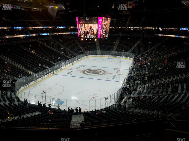 T-Mobile Arena Section 103 view