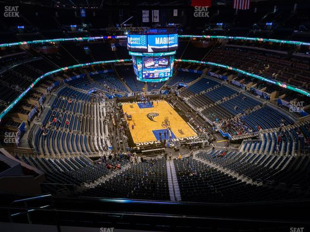 Amway Center Section 202 view