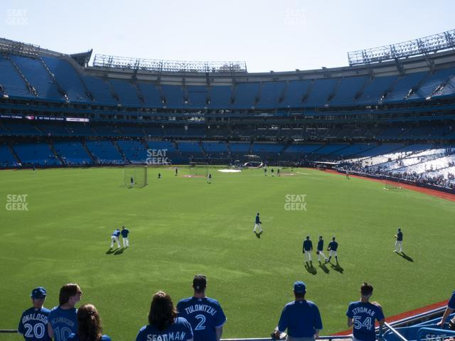 Rogers Centre Section 139 L view