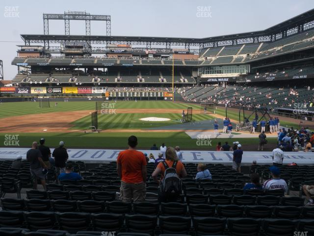 Coors Field Section 137 view
