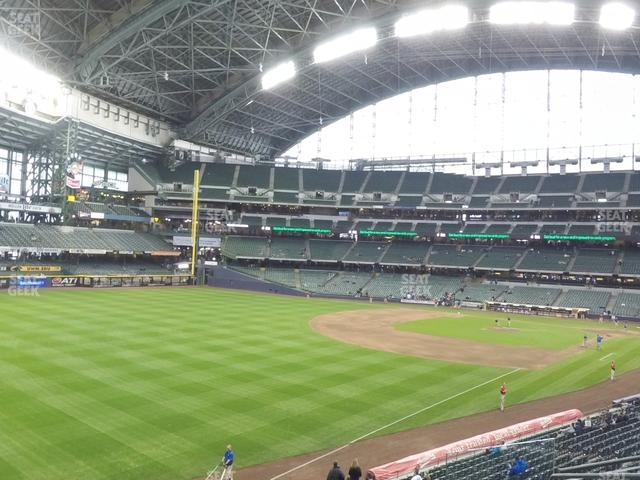 Miller Park Section 231 view