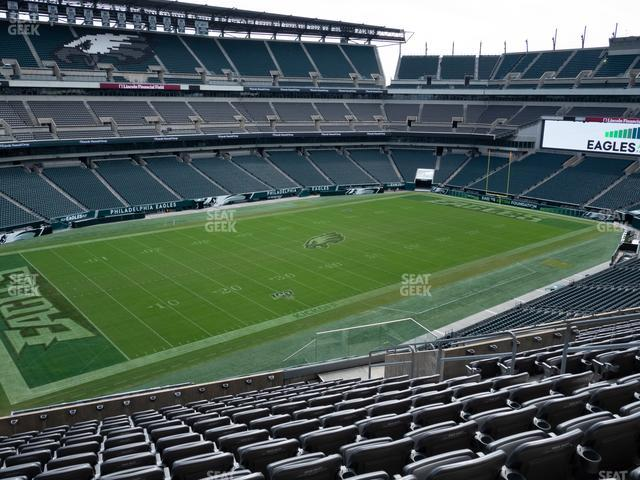 Lincoln Financial Field Section C 36 view