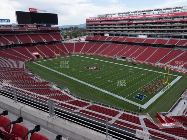 Levi's Stadium Section 309 view