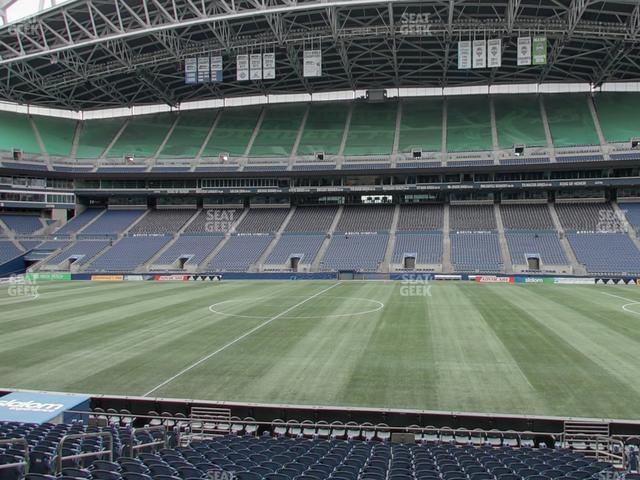 CenturyLink Field Section 108 view