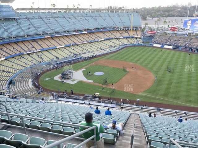 Dodger Stadium Reserve 22 view