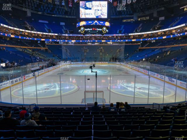 KeyBank Center Section 123 view