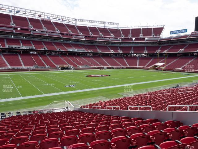 Levi's Stadium Section 142 view