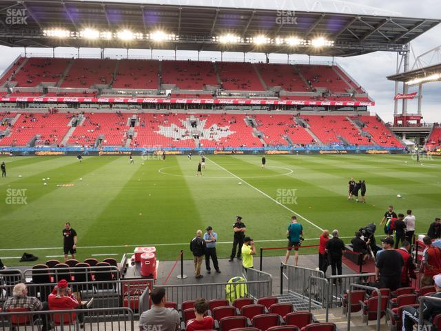BMO Field Section 123 view