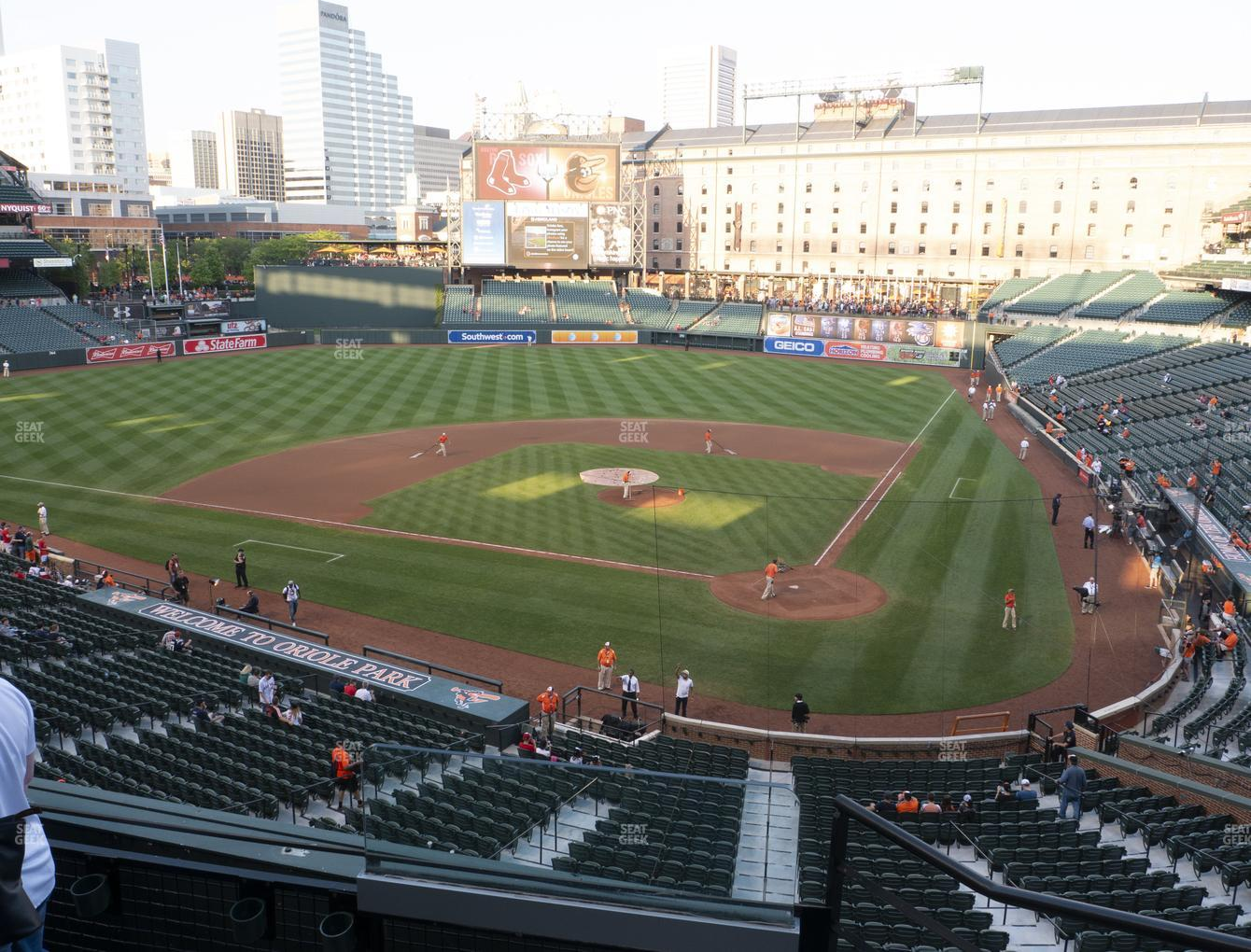 Baltimore Orioles at Oriole Park at Camden Yards Section 242 View