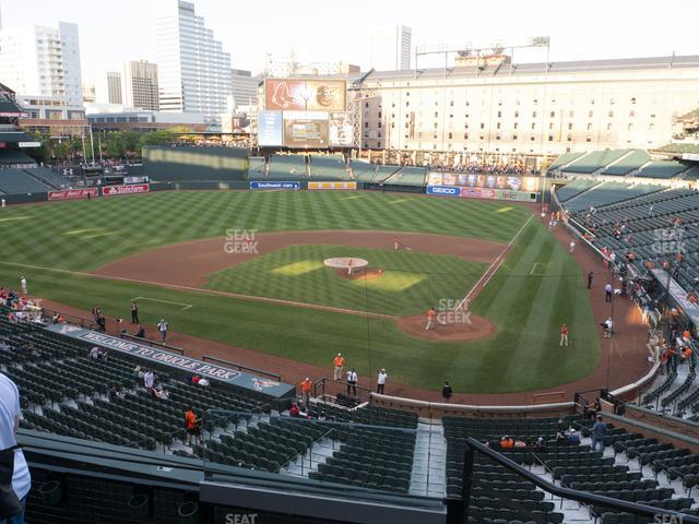 Oriole Park at Camden Yards Section 242 view