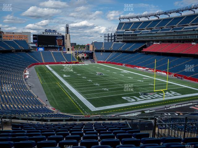 Gillette Stadium Section 223 view