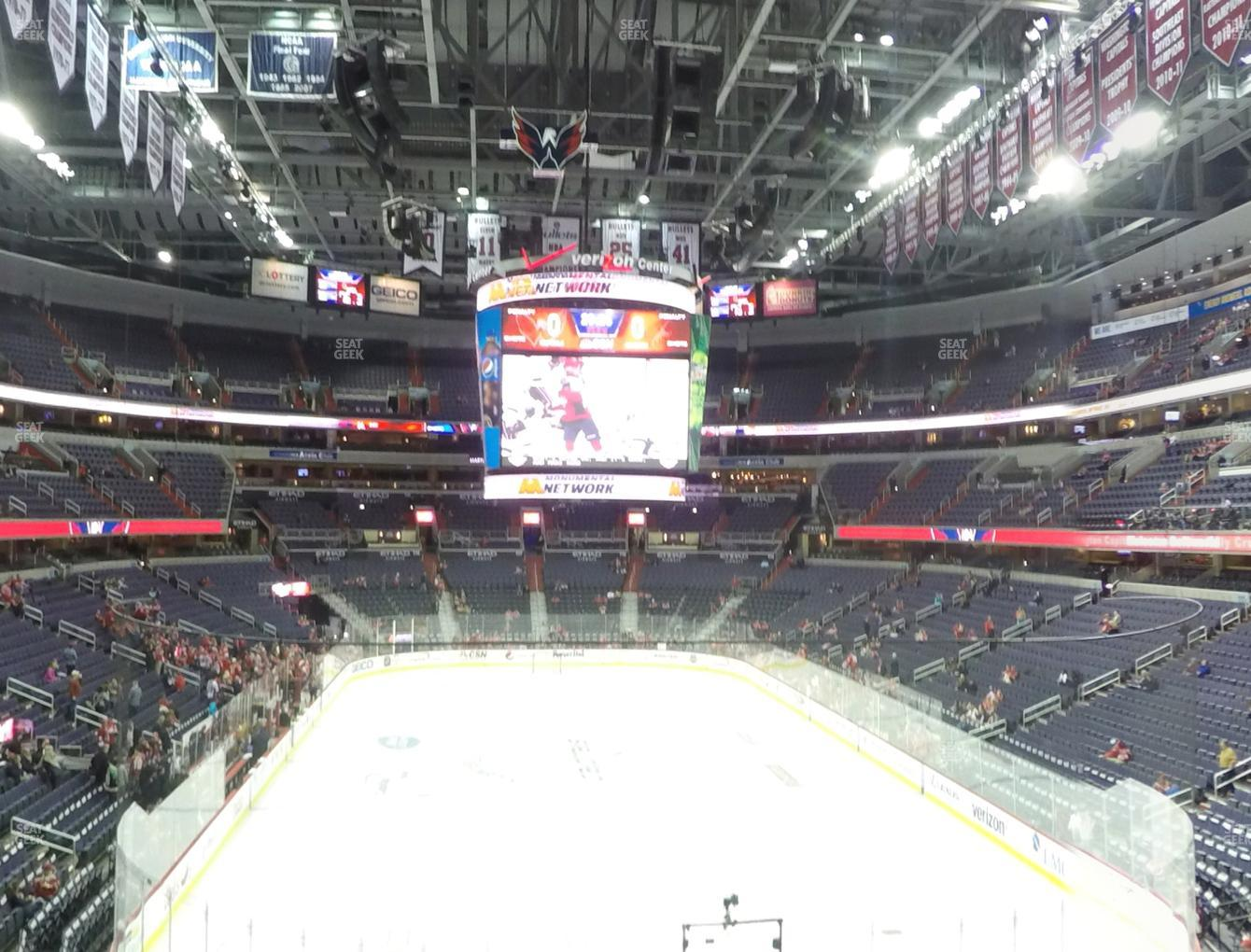 Washington Capitals at Capital One Arena Suite 105 View