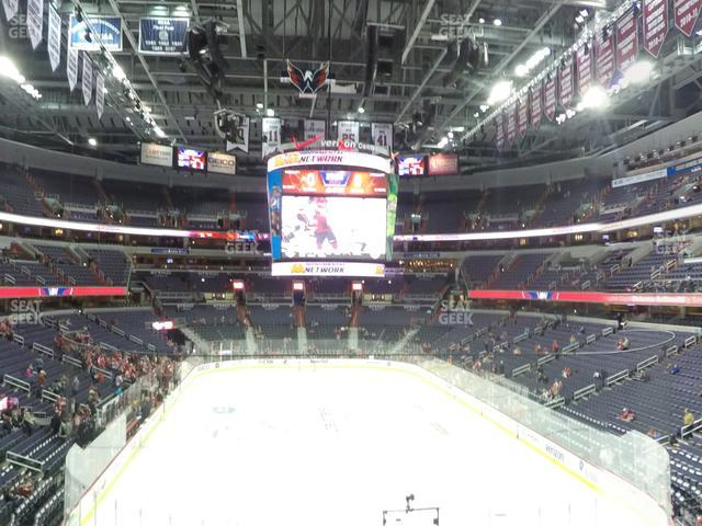 Capital One Arena Suite 105 view