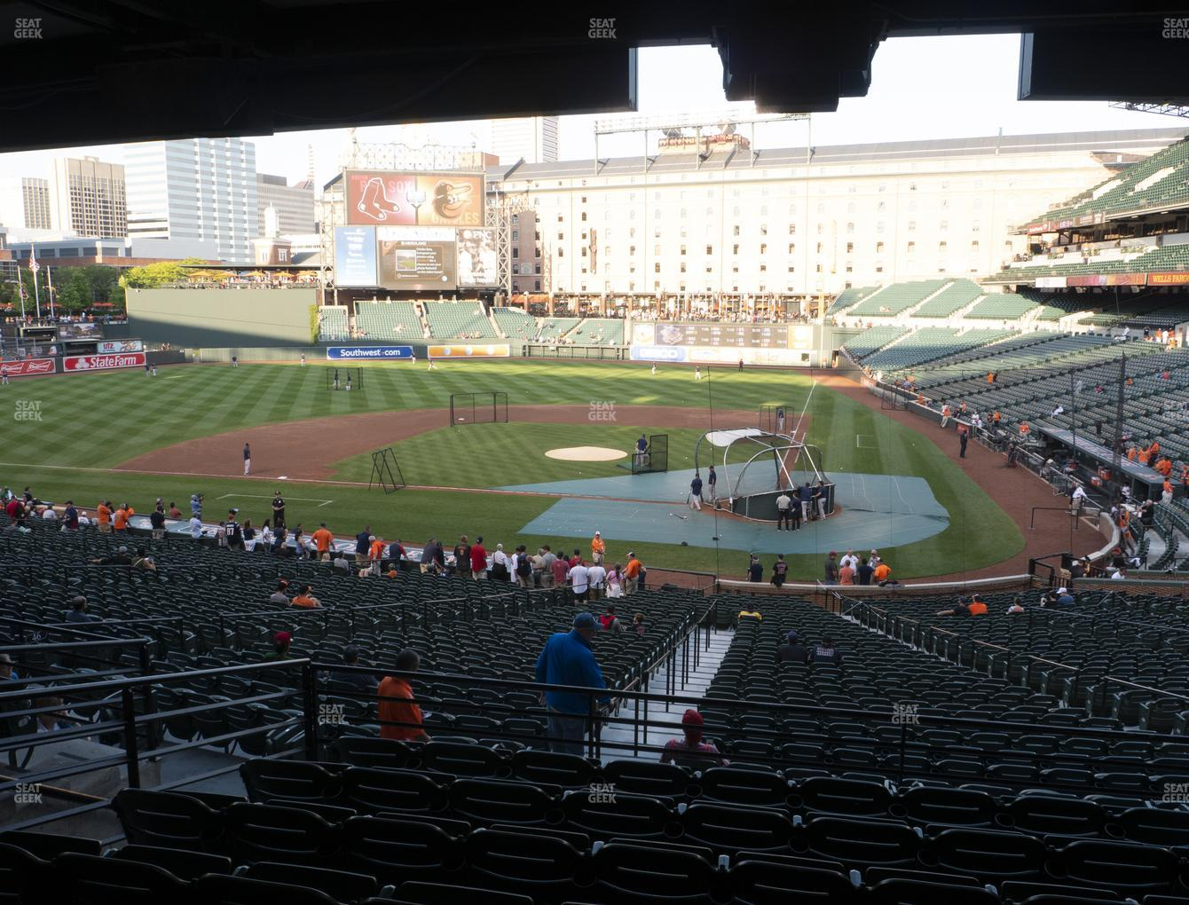 Baltimore Orioles at Oriole Park at Camden Yards Section 45 View