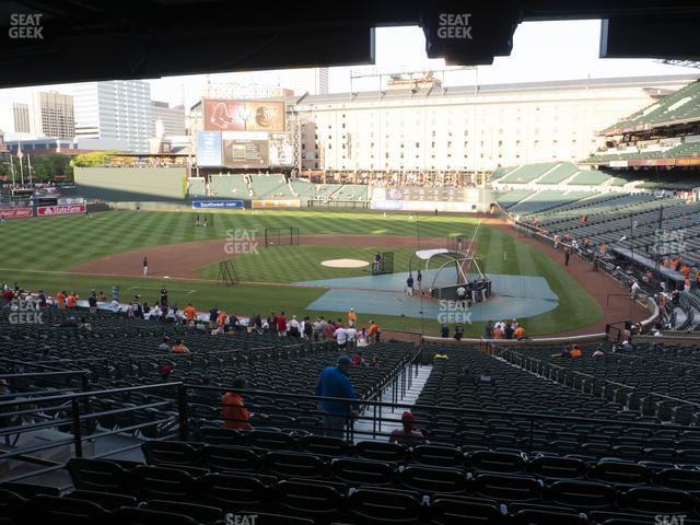 Oriole Park at Camden Yards Section 45 view