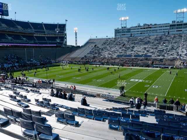 Beaver Stadium Section East H view