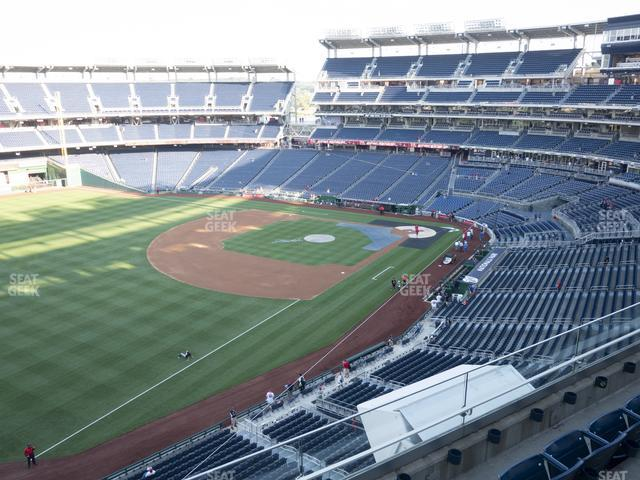 Nationals Park Section 303 view