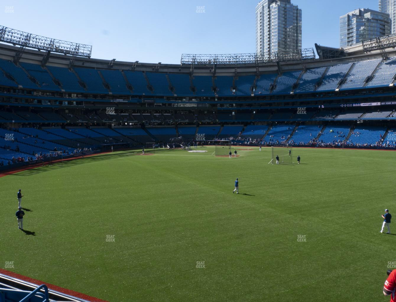 Toronto Blue Jays at Rogers Centre Section 104 L View
