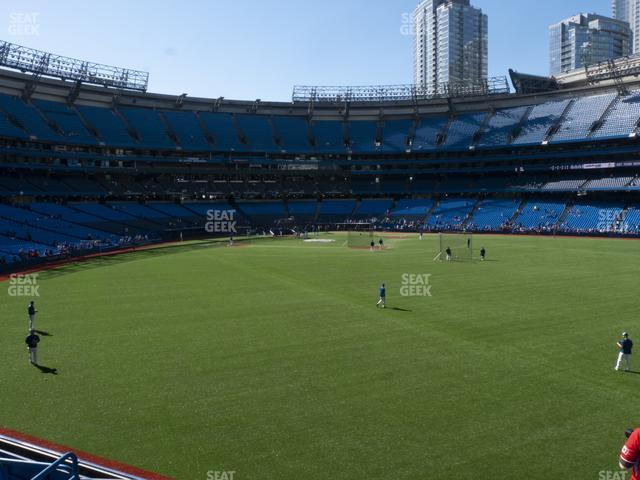 Rogers Centre Section 104 L view
