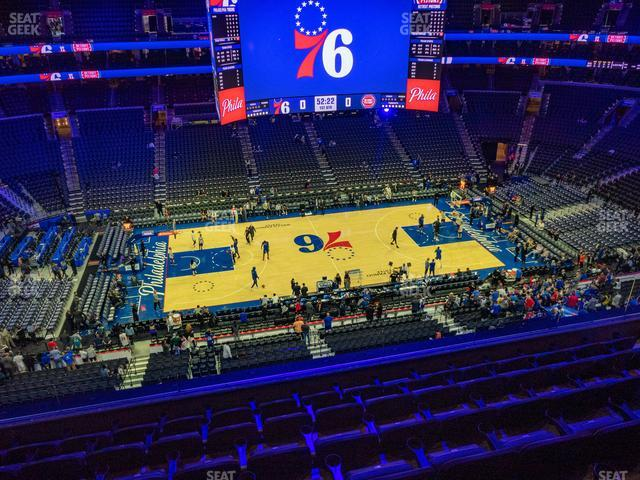 Wells Fargo Center Section 224 view