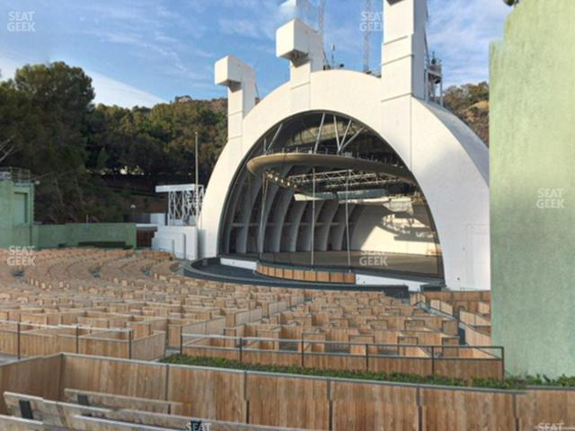 Hollywood Bowl Section D view