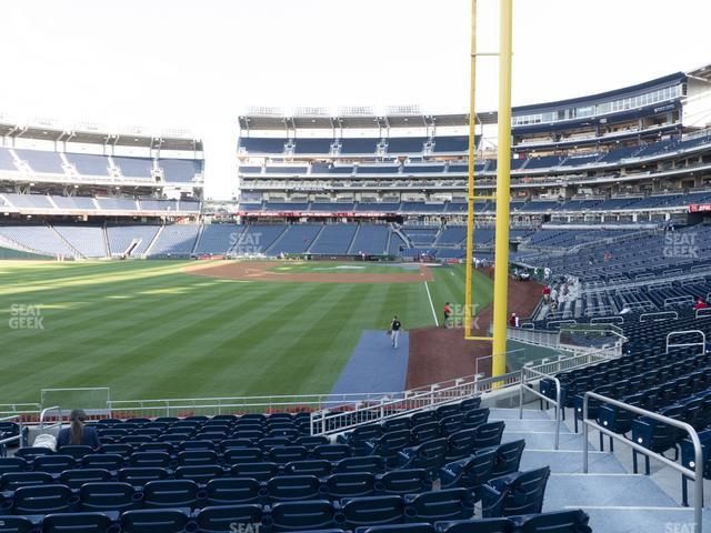 Nationals Park Section 106 view