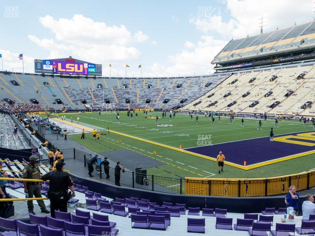 LSU Tiger Stadium Section 408 view