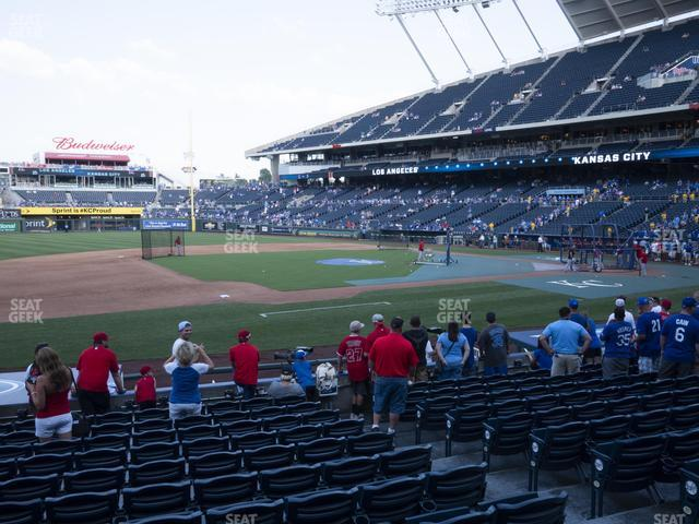 Kauffman Stadium Section 118 view