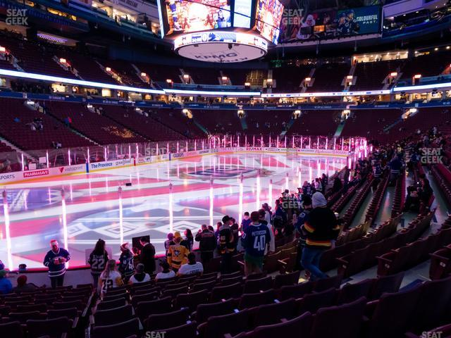 Rogers Arena Section 120 view
