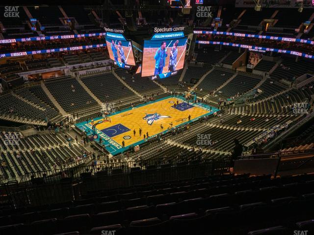 Spectrum Center Section 212 view