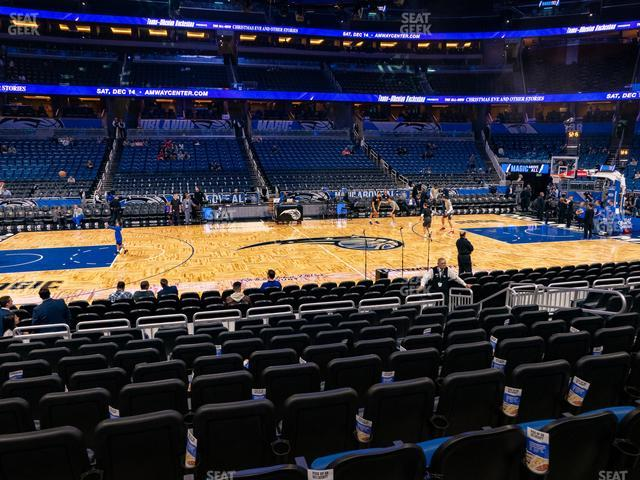Amway Center Section 115 view