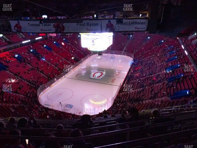 Bell Centre Section 408 view