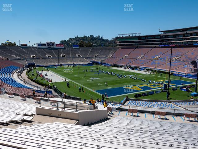 Rose Bowl Upper 9 H view
