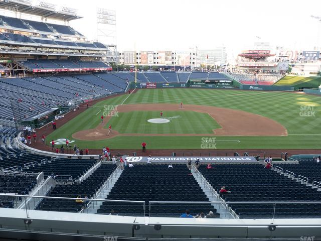 Nationals Park Section 218 view