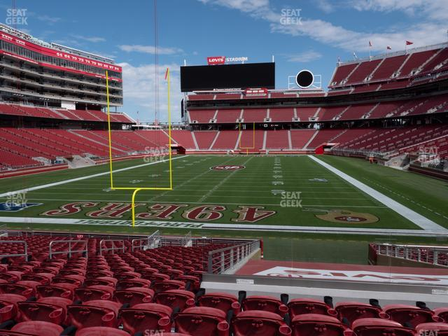 Levi's Stadium Section 126 view
