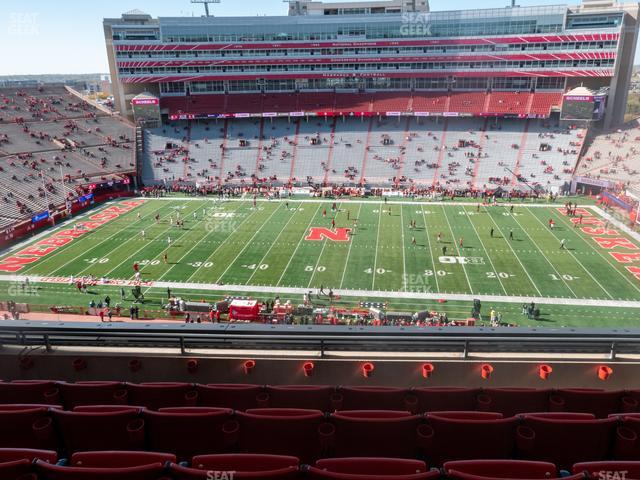 Memorial Stadium Nebraska Section 406 view