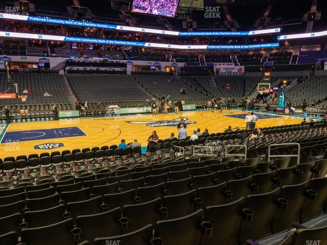 Spectrum Center Section 115 view