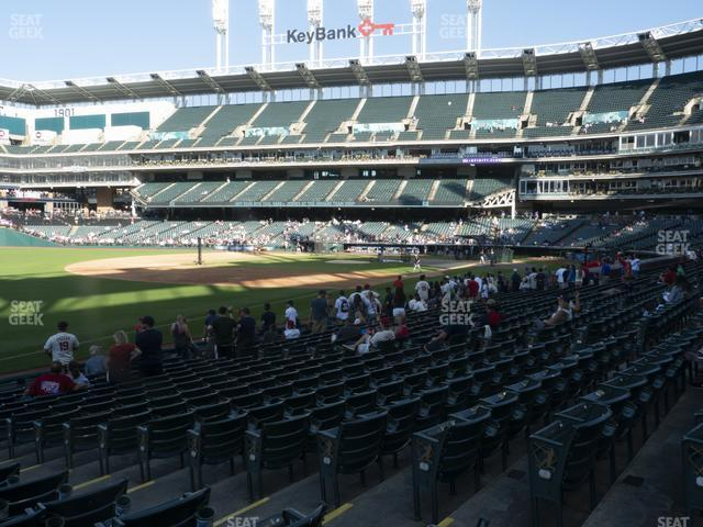 Progressive Field Section 172 view