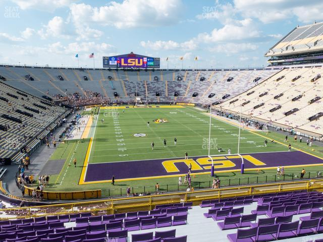 LSU Tiger Stadium Section 418 view