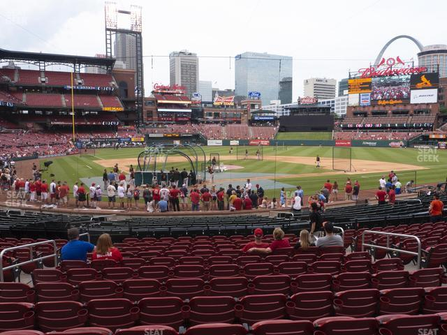 Busch Stadium Home Field Box 148 view