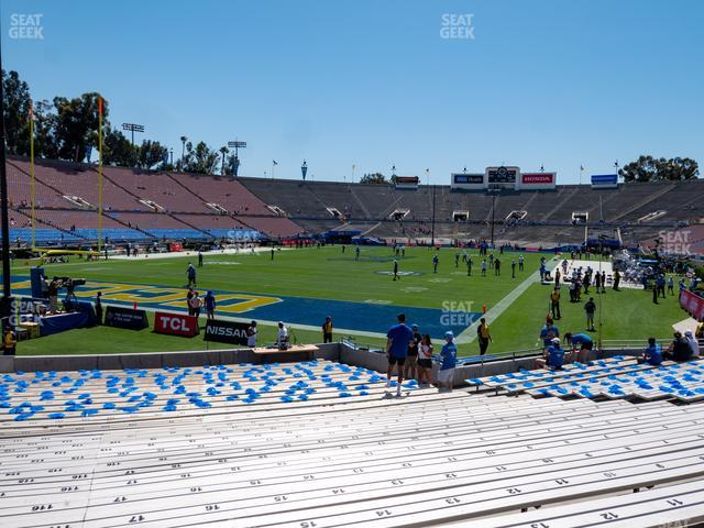 Rose Bowl Lower 13 H view