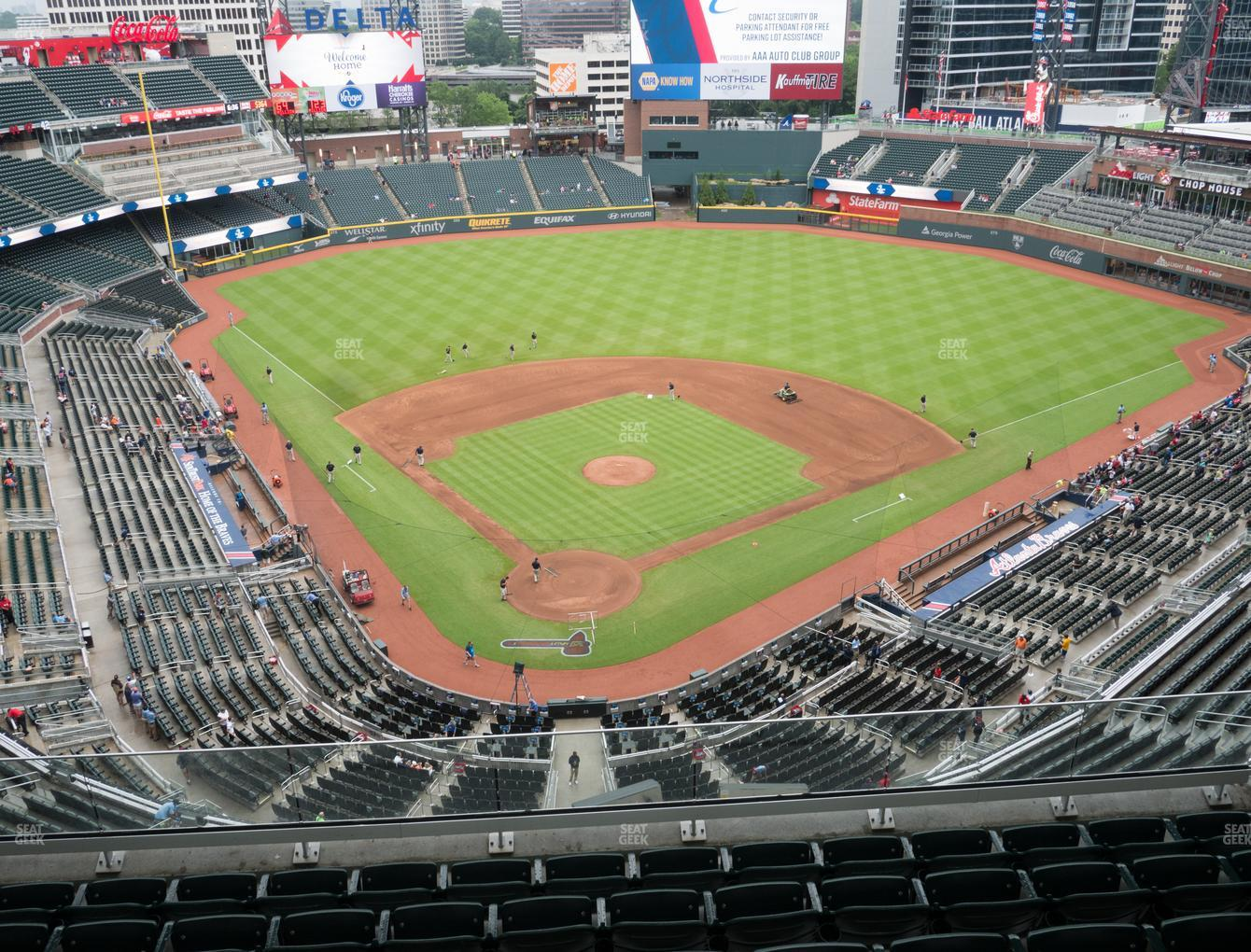 Atlanta Braves at Truist Park Section 425 View