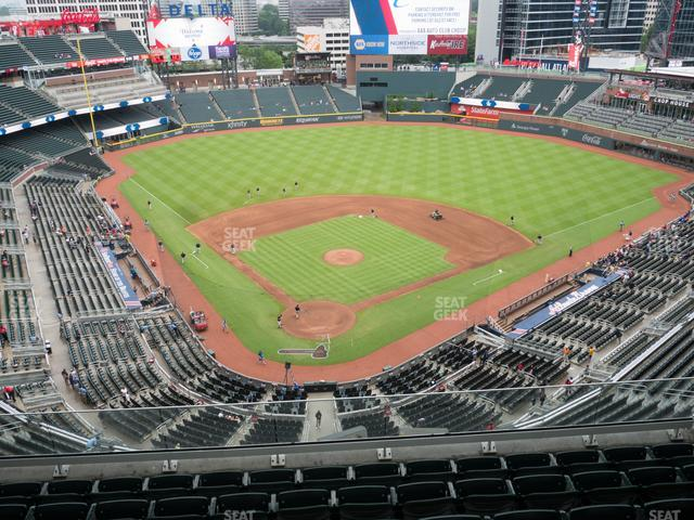 SunTrust Park Section 425 view