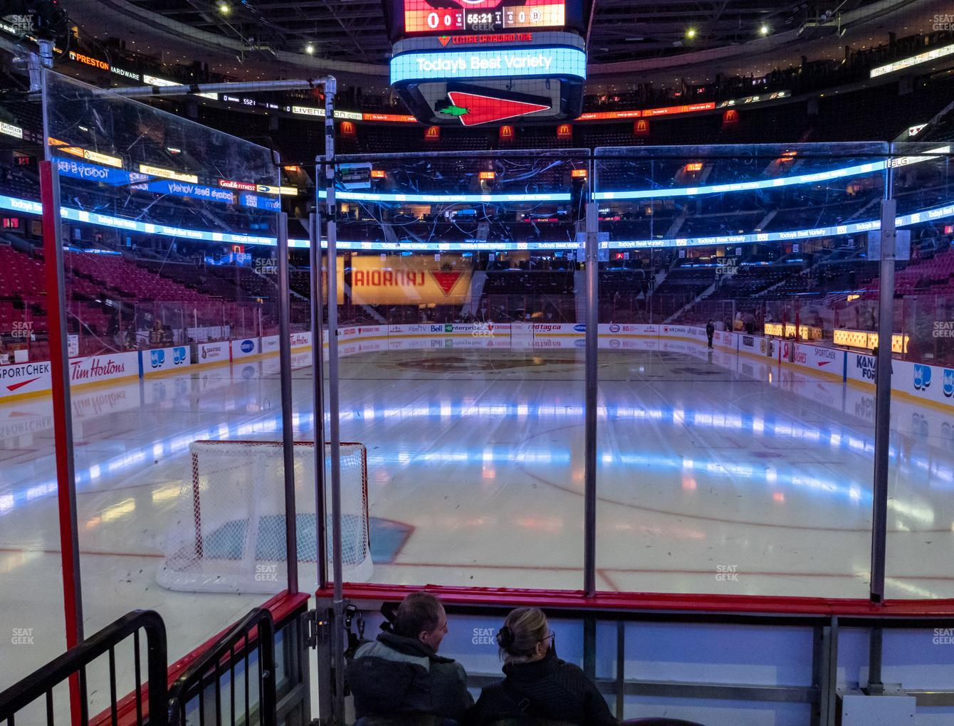 Ottawa Senators at Canadian Tire Centre Section 111 View