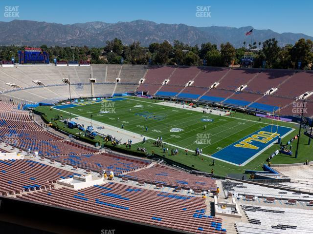 Rose Bowl Section Club 201 view